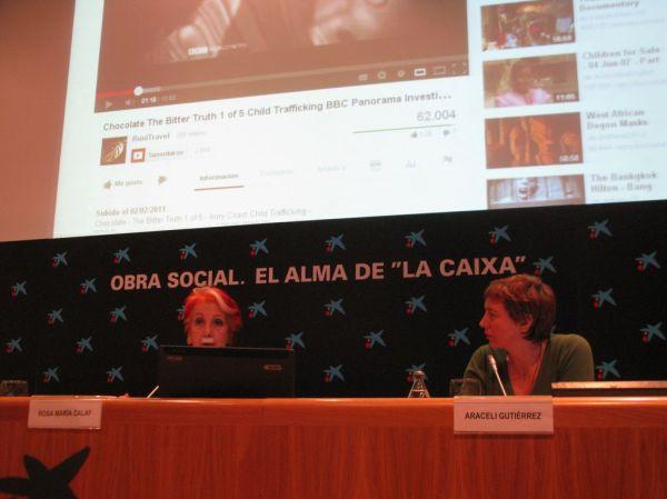 Rosa María Calaf afirma que no puede jubilarse del periodismo, porque para ella sería como jubilarse de la vida.