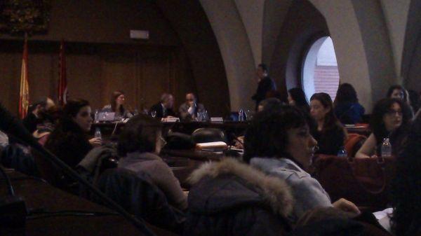 """Jornada """"Activismo RSC"""", convocada por el Instituto Complutense de Estudios Internacionales y moderada por Helena Ancos."""