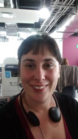 Débora Quiroga. Socióloga. Dos años viviendo en México.