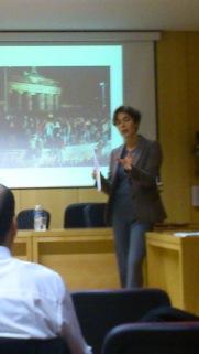 Cristina Manzano, directora de Esglobal